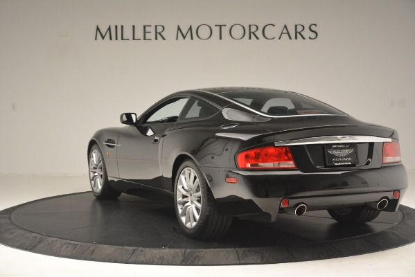Used 2004 Aston Martin V12 Vanquish for sale Sold at Aston Martin of Greenwich in Greenwich CT 06830 3
