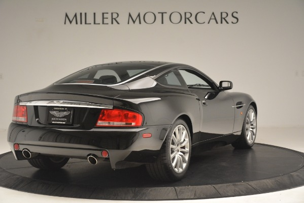 Used 2004 Aston Martin V12 Vanquish for sale Sold at Aston Martin of Greenwich in Greenwich CT 06830 6