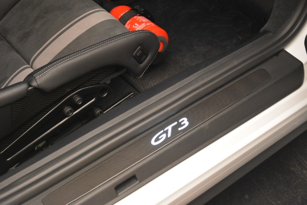 Used 2018 Porsche 911 GT3 for sale Sold at Aston Martin of Greenwich in Greenwich CT 06830 14