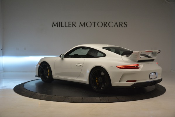 Used 2018 Porsche 911 GT3 for sale Sold at Aston Martin of Greenwich in Greenwich CT 06830 3