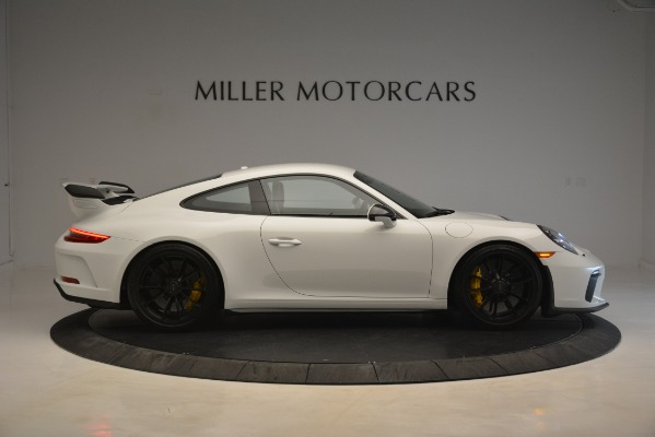 Used 2018 Porsche 911 GT3 for sale Sold at Aston Martin of Greenwich in Greenwich CT 06830 7