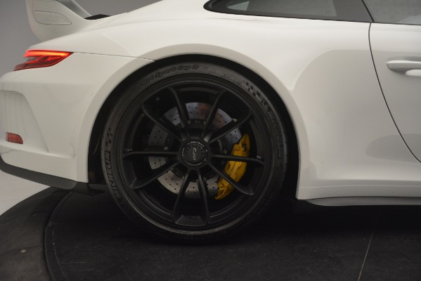 Used 2018 Porsche 911 GT3 for sale Sold at Aston Martin of Greenwich in Greenwich CT 06830 9