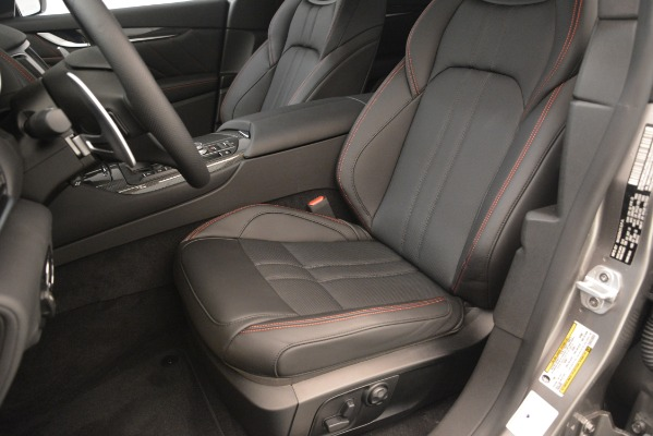 New 2019 Maserati Levante SQ4 GranSport Nerissimo for sale Sold at Aston Martin of Greenwich in Greenwich CT 06830 15