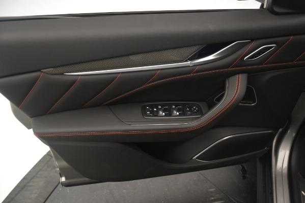 New 2019 Maserati Levante SQ4 GranSport Nerissimo for sale Sold at Aston Martin of Greenwich in Greenwich CT 06830 17