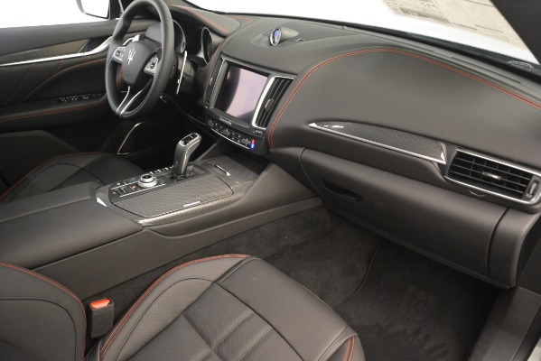 New 2019 Maserati Levante SQ4 GranSport Nerissimo for sale Sold at Aston Martin of Greenwich in Greenwich CT 06830 22
