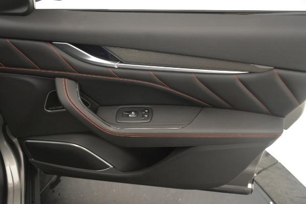 New 2019 Maserati Levante SQ4 GranSport Nerissimo for sale Sold at Aston Martin of Greenwich in Greenwich CT 06830 25