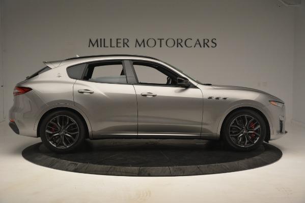 New 2019 Maserati Levante SQ4 GranSport Nerissimo for sale Sold at Aston Martin of Greenwich in Greenwich CT 06830 9