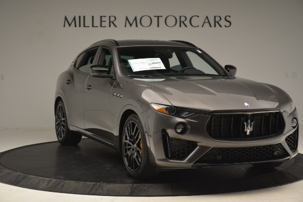 New 2019 Maserati Levante SQ4 GranSport Nerissimo for sale Sold at Aston Martin of Greenwich in Greenwich CT 06830 11