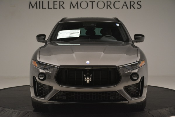 New 2019 Maserati Levante SQ4 GranSport Nerissimo for sale Sold at Aston Martin of Greenwich in Greenwich CT 06830 12