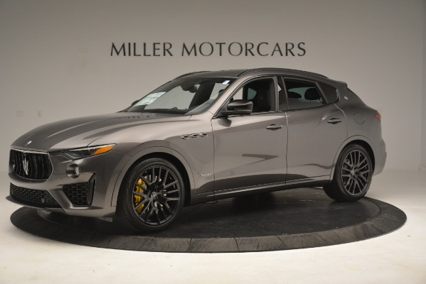New 2019 Maserati Levante SQ4 GranSport Nerissimo for sale Sold at Aston Martin of Greenwich in Greenwich CT 06830 2
