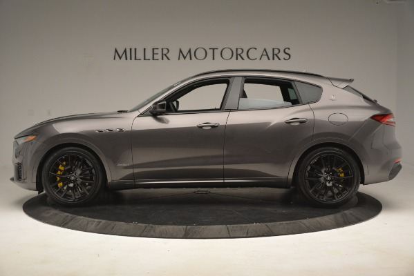 New 2019 Maserati Levante SQ4 GranSport Nerissimo for sale Sold at Aston Martin of Greenwich in Greenwich CT 06830 3