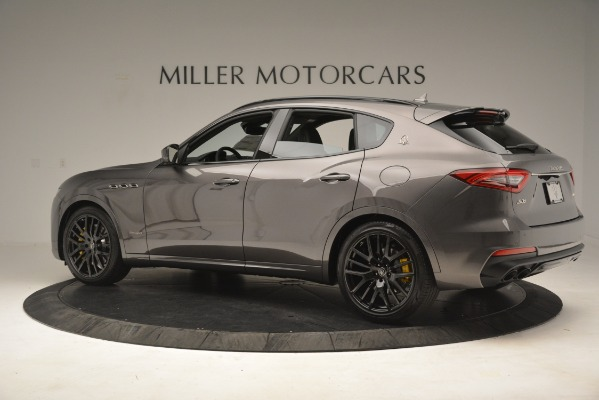 New 2019 Maserati Levante SQ4 GranSport Nerissimo for sale Sold at Aston Martin of Greenwich in Greenwich CT 06830 4