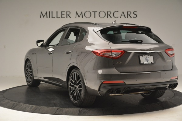 New 2019 Maserati Levante SQ4 GranSport Nerissimo for sale Sold at Aston Martin of Greenwich in Greenwich CT 06830 5