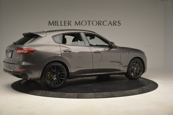 New 2019 Maserati Levante SQ4 GranSport Nerissimo for sale Sold at Aston Martin of Greenwich in Greenwich CT 06830 8