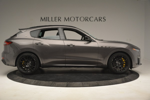 New 2019 Maserati Levante SQ4 GranSport Nerissimo for sale Sold at Aston Martin of Greenwich in Greenwich CT 06830 9
