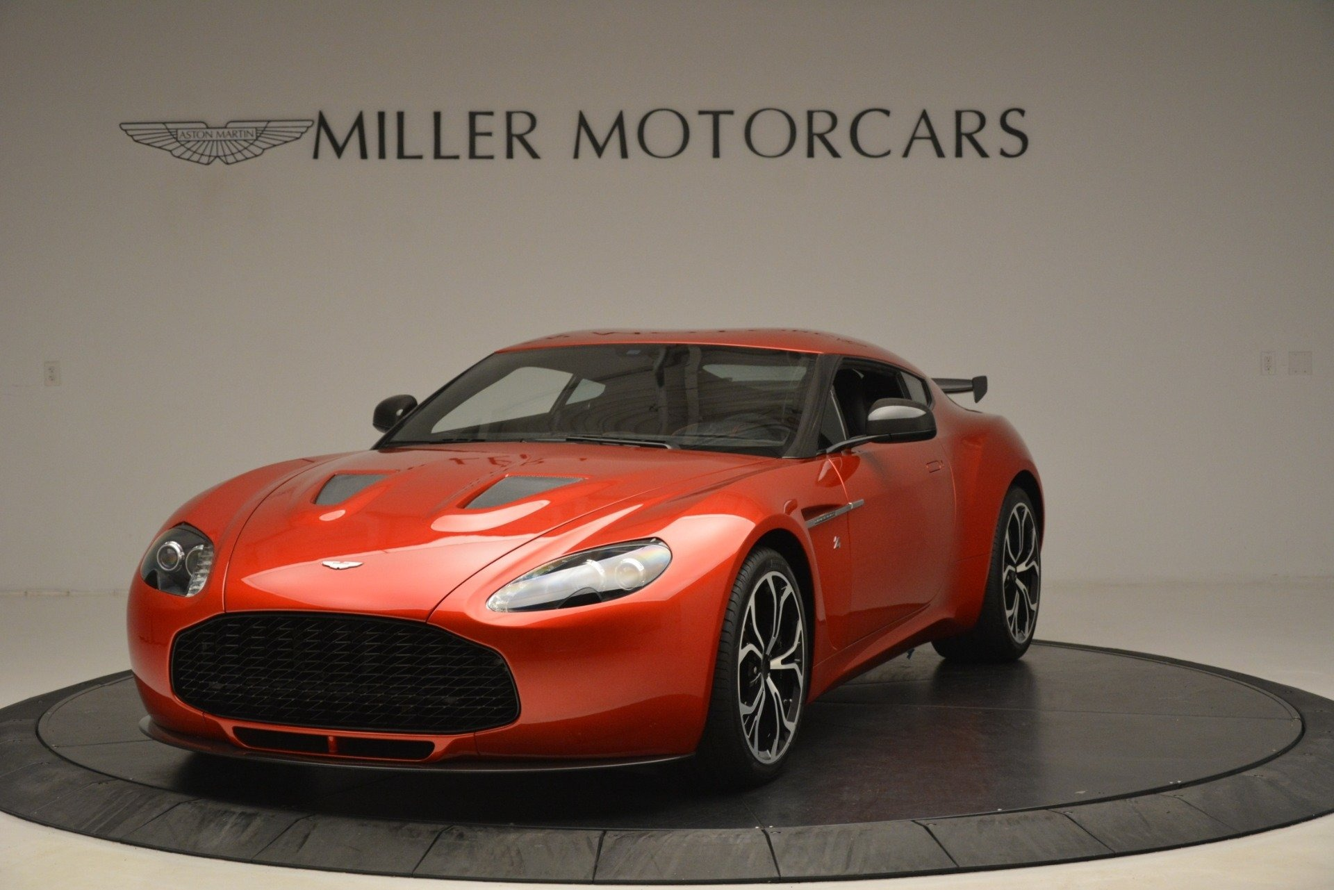 Pre Owned 2013 Aston Martin V12 Zagato Coupe For Sale 655 900 Aston Martin Of Greenwich Stock 7936c