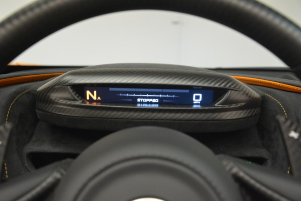 New 2020 McLaren 720S SPIDER Convertible for sale Sold at Aston Martin of Greenwich in Greenwich CT 06830 27