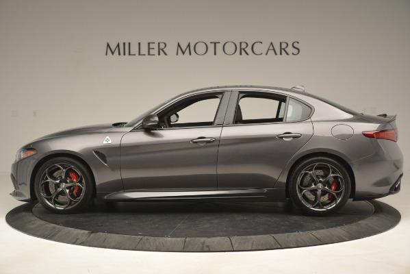 New 2019 Alfa Romeo Giulia Quadrifoglio for sale Sold at Aston Martin of Greenwich in Greenwich CT 06830 3