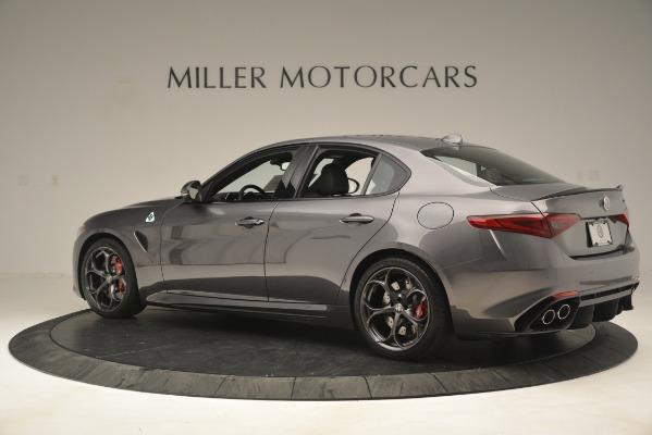 New 2019 Alfa Romeo Giulia Quadrifoglio for sale Sold at Aston Martin of Greenwich in Greenwich CT 06830 4