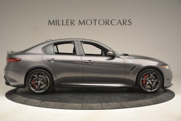 New 2019 Alfa Romeo Giulia Quadrifoglio for sale Sold at Aston Martin of Greenwich in Greenwich CT 06830 9