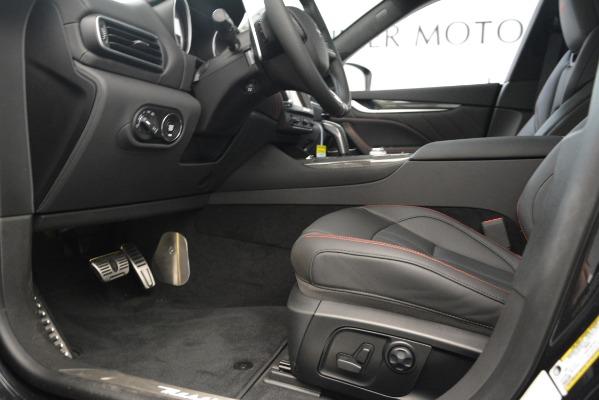 New 2019 Maserati Levante SQ4 GranSport Nerissimo for sale Sold at Aston Martin of Greenwich in Greenwich CT 06830 14