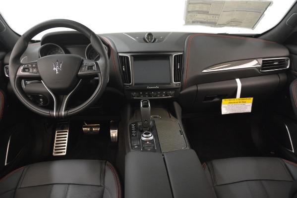 New 2019 Maserati Levante SQ4 GranSport Nerissimo for sale Sold at Aston Martin of Greenwich in Greenwich CT 06830 16