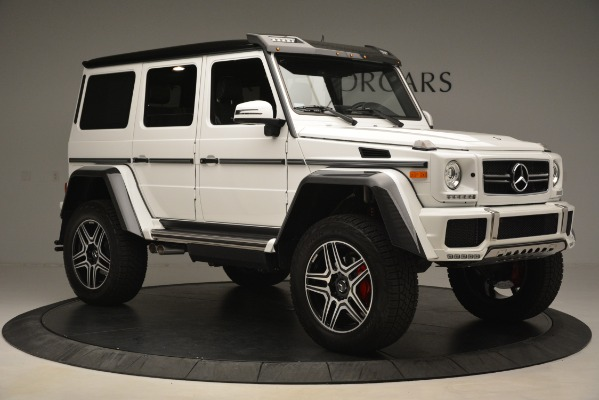 Used 2018 Mercedes-Benz G-Class G 550 4x4 Squared for sale Sold at Aston Martin of Greenwich in Greenwich CT 06830 10