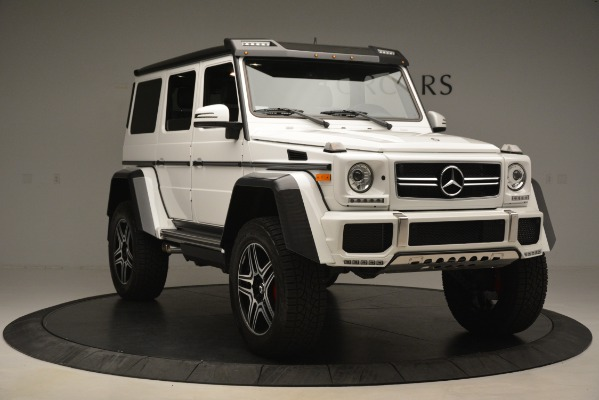 Used 2018 Mercedes-Benz G-Class G 550 4x4 Squared for sale Sold at Aston Martin of Greenwich in Greenwich CT 06830 11