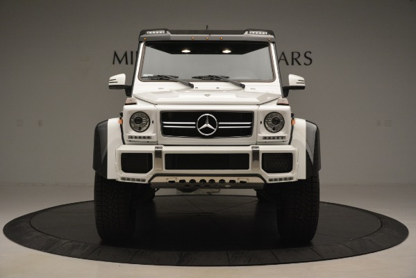 Used 2018 Mercedes-Benz G-Class G 550 4x4 Squared for sale Sold at Aston Martin of Greenwich in Greenwich CT 06830 12