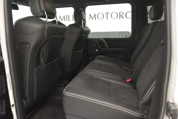 Used 2018 Mercedes-Benz G-Class G 550 4x4 Squared for sale Sold at Aston Martin of Greenwich in Greenwich CT 06830 17