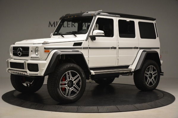 Used 2018 Mercedes-Benz G-Class G 550 4x4 Squared for sale Sold at Aston Martin of Greenwich in Greenwich CT 06830 2