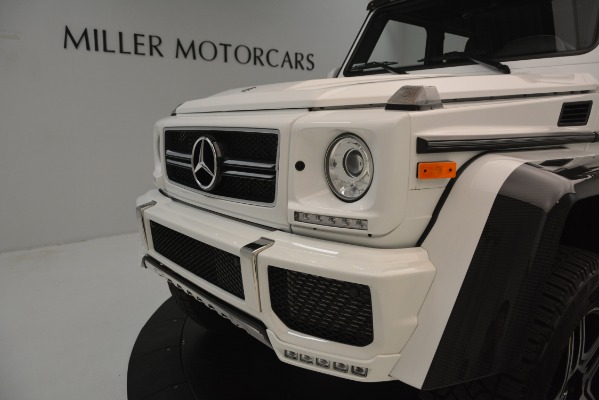 Used 2018 Mercedes-Benz G-Class G 550 4x4 Squared for sale Sold at Aston Martin of Greenwich in Greenwich CT 06830 23