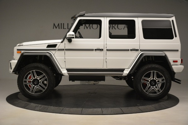 Used 2018 Mercedes-Benz G-Class G 550 4x4 Squared for sale Sold at Aston Martin of Greenwich in Greenwich CT 06830 3