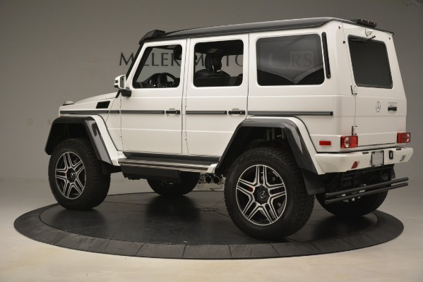 Used 2018 Mercedes-Benz G-Class G 550 4x4 Squared for sale Sold at Aston Martin of Greenwich in Greenwich CT 06830 4