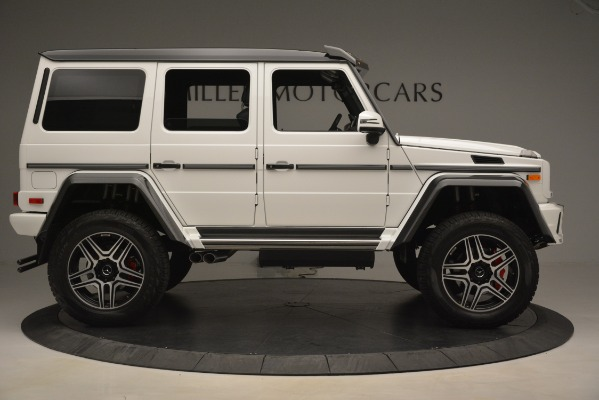 Used 2018 Mercedes-Benz G-Class G 550 4x4 Squared for sale Sold at Aston Martin of Greenwich in Greenwich CT 06830 9