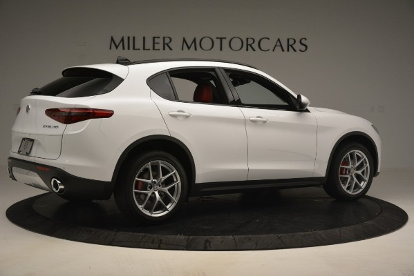 New 2019 Alfa Romeo Stelvio Ti Sport Q4 for sale Sold at Aston Martin of Greenwich in Greenwich CT 06830 8