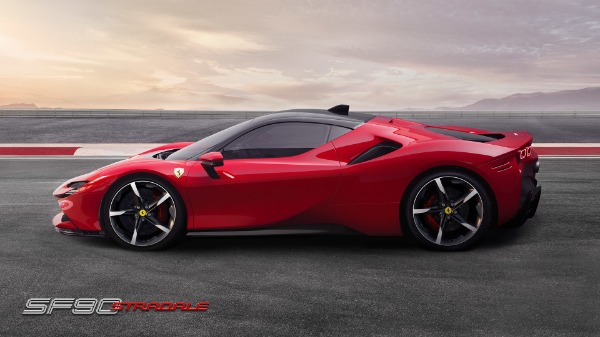 New 2021 Ferrari SF90 Stradale for sale Call for price at Aston Martin of Greenwich in Greenwich CT 06830 3