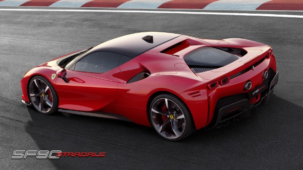 New 2021 Ferrari SF90 Stradale for sale Call for price at Aston Martin of Greenwich in Greenwich CT 06830 4