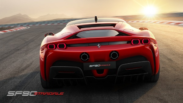 New 2021 Ferrari SF90 Stradale for sale Call for price at Aston Martin of Greenwich in Greenwich CT 06830 5