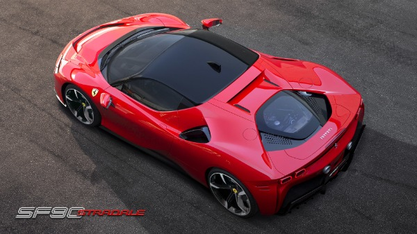 New 2021 Ferrari SF90 Stradale for sale Call for price at Aston Martin of Greenwich in Greenwich CT 06830 6