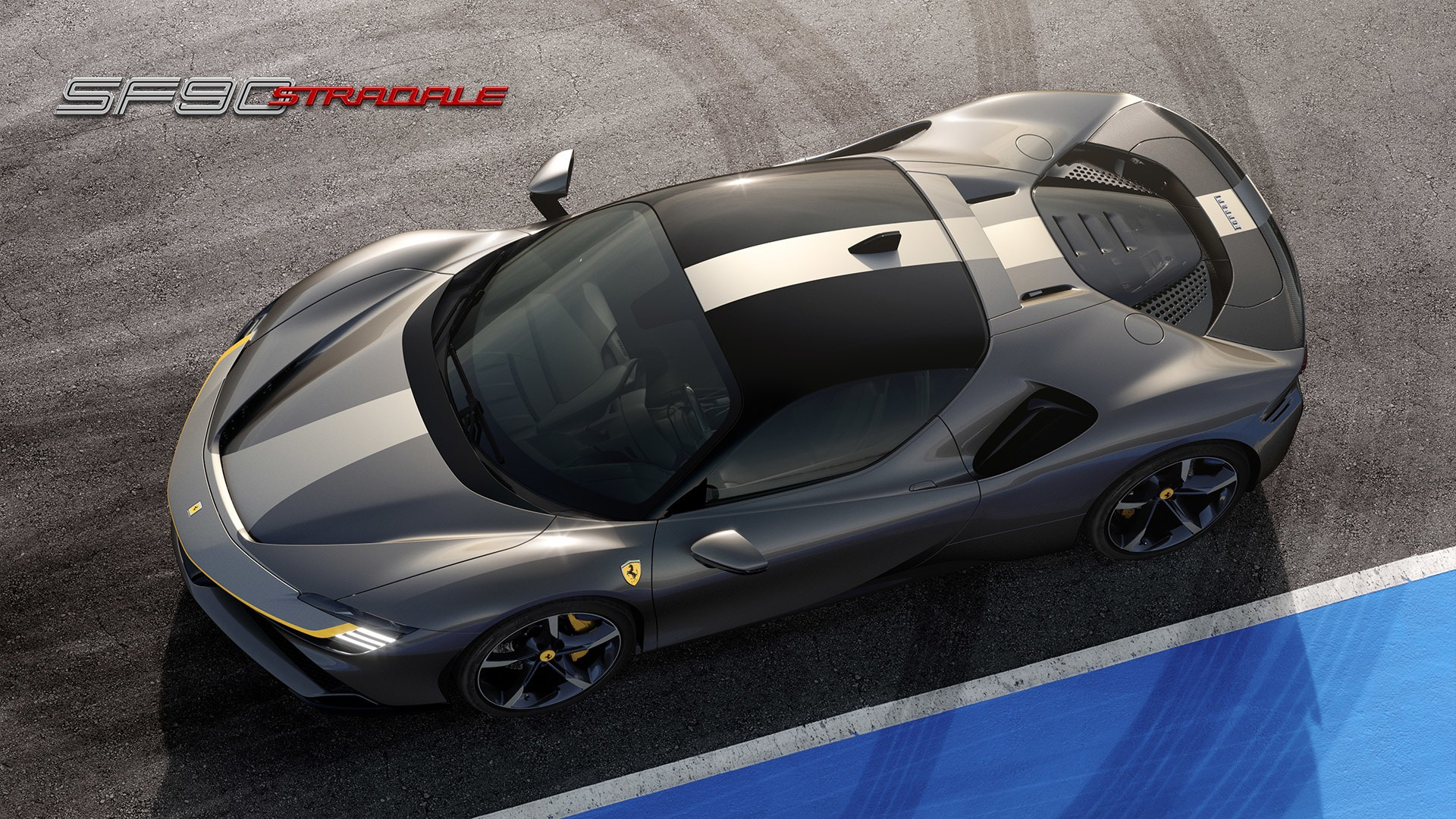 New 2021 Ferrari SF90 Stradale for sale Call for price at Aston Martin of Greenwich in Greenwich CT 06830 1
