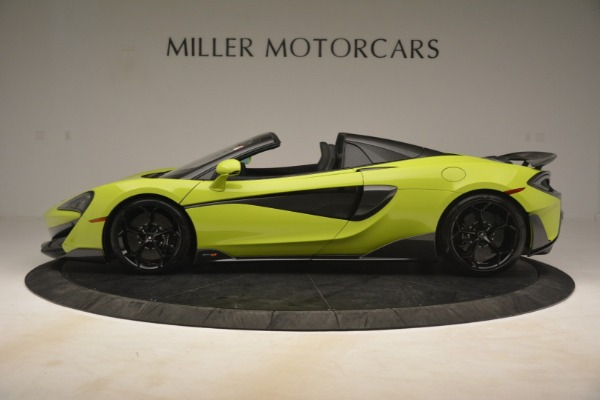 New 2020 McLaren 600LT Spider for sale $281,570 at Aston Martin of Greenwich in Greenwich CT 06830 10