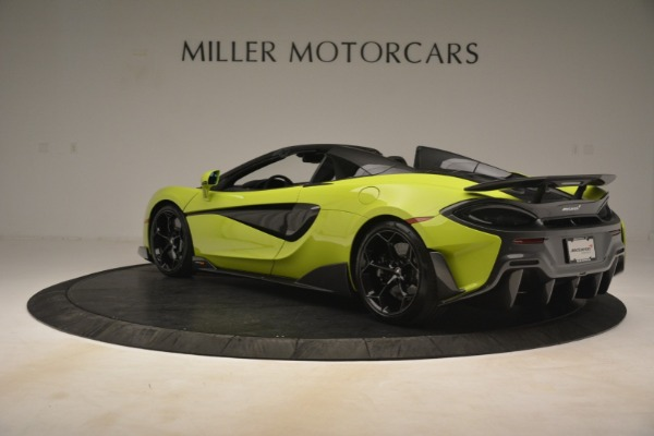 New 2020 McLaren 600LT SPIDER Convertible for sale $281,570 at Aston Martin of Greenwich in Greenwich CT 06830 11