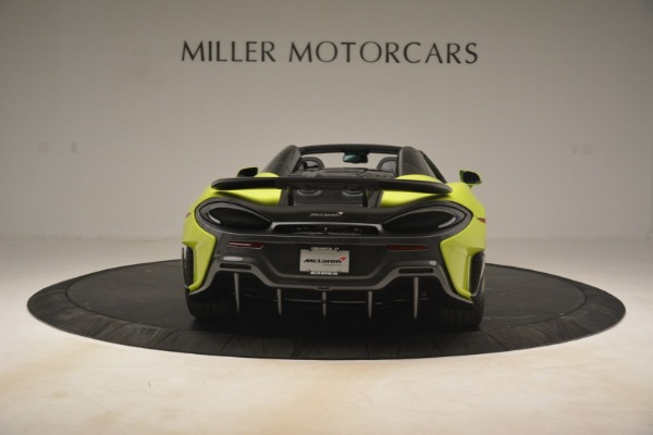 New 2020 McLaren 600LT SPIDER Convertible for sale $281,570 at Aston Martin of Greenwich in Greenwich CT 06830 12