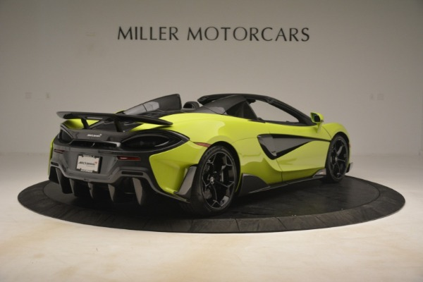 New 2020 McLaren 600LT Spider for sale $281,570 at Aston Martin of Greenwich in Greenwich CT 06830 13