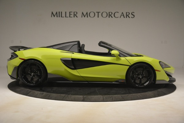 New 2020 McLaren 600LT Spider for sale $281,570 at Aston Martin of Greenwich in Greenwich CT 06830 14