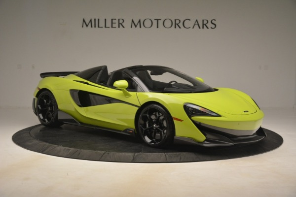 New 2020 McLaren 600LT Spider for sale $281,570 at Aston Martin of Greenwich in Greenwich CT 06830 15