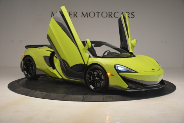 New 2020 McLaren 600LT Spider for sale $281,570 at Aston Martin of Greenwich in Greenwich CT 06830 16