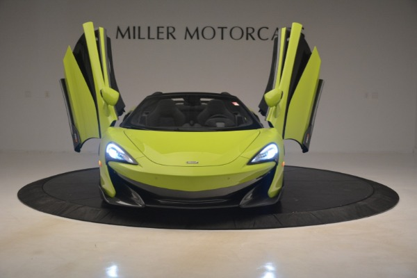 New 2020 McLaren 600LT Spider for sale $281,570 at Aston Martin of Greenwich in Greenwich CT 06830 17