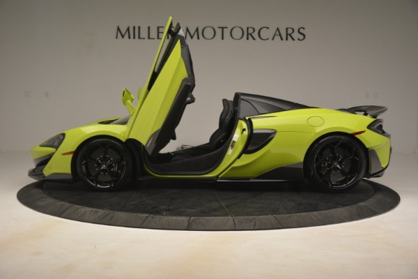 New 2020 McLaren 600LT Spider for sale $281,570 at Aston Martin of Greenwich in Greenwich CT 06830 19